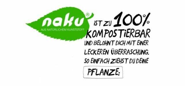 NaKu Biokunststoffsackerl mit Pflanzensamen