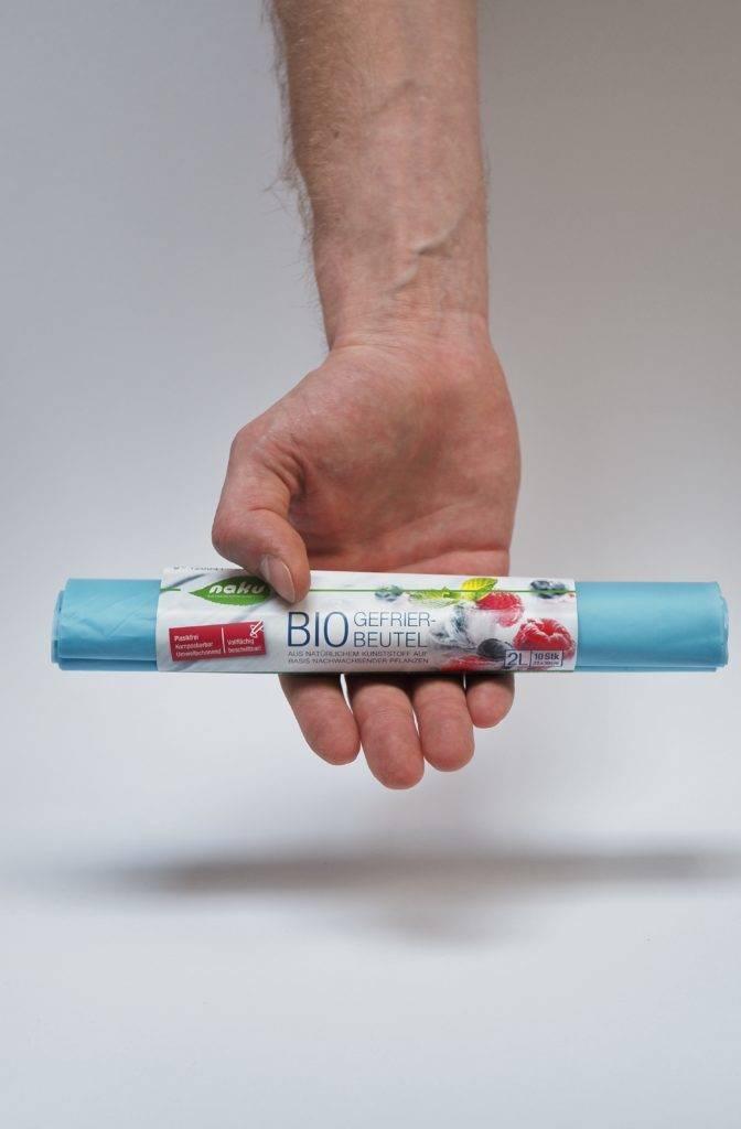 Bio Gefrierbeutel ohne Plastik