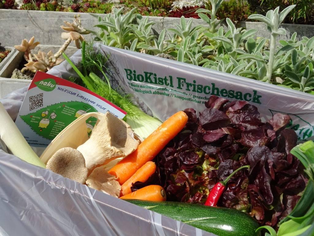 Biodegradable trash bag