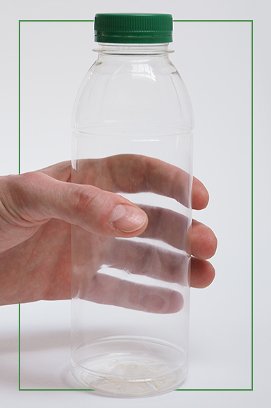 Biodegradable water bottle