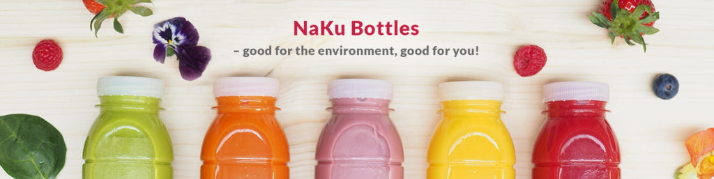 Natural bottles without plastic