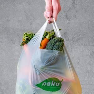 Kompostierbare Einkaufstüte