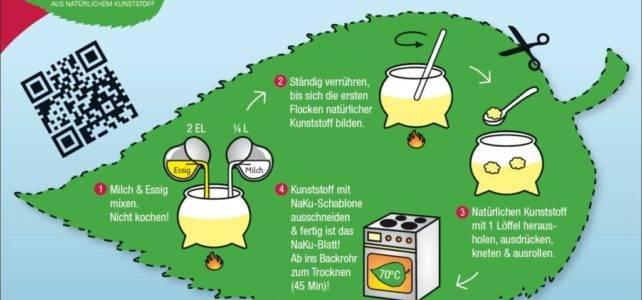Wie natürlicher Kunststoff selbst gemacht wird