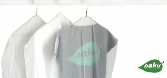 Für Putzereien und Wäschereien - Kleidersack aus Biokunststoff