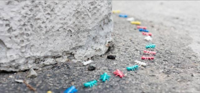 Ameisen aus Naturkunststoff