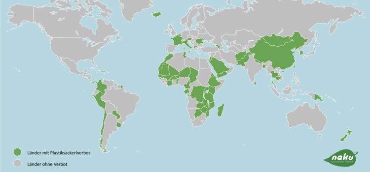 Das Plastiksackerlverbot international