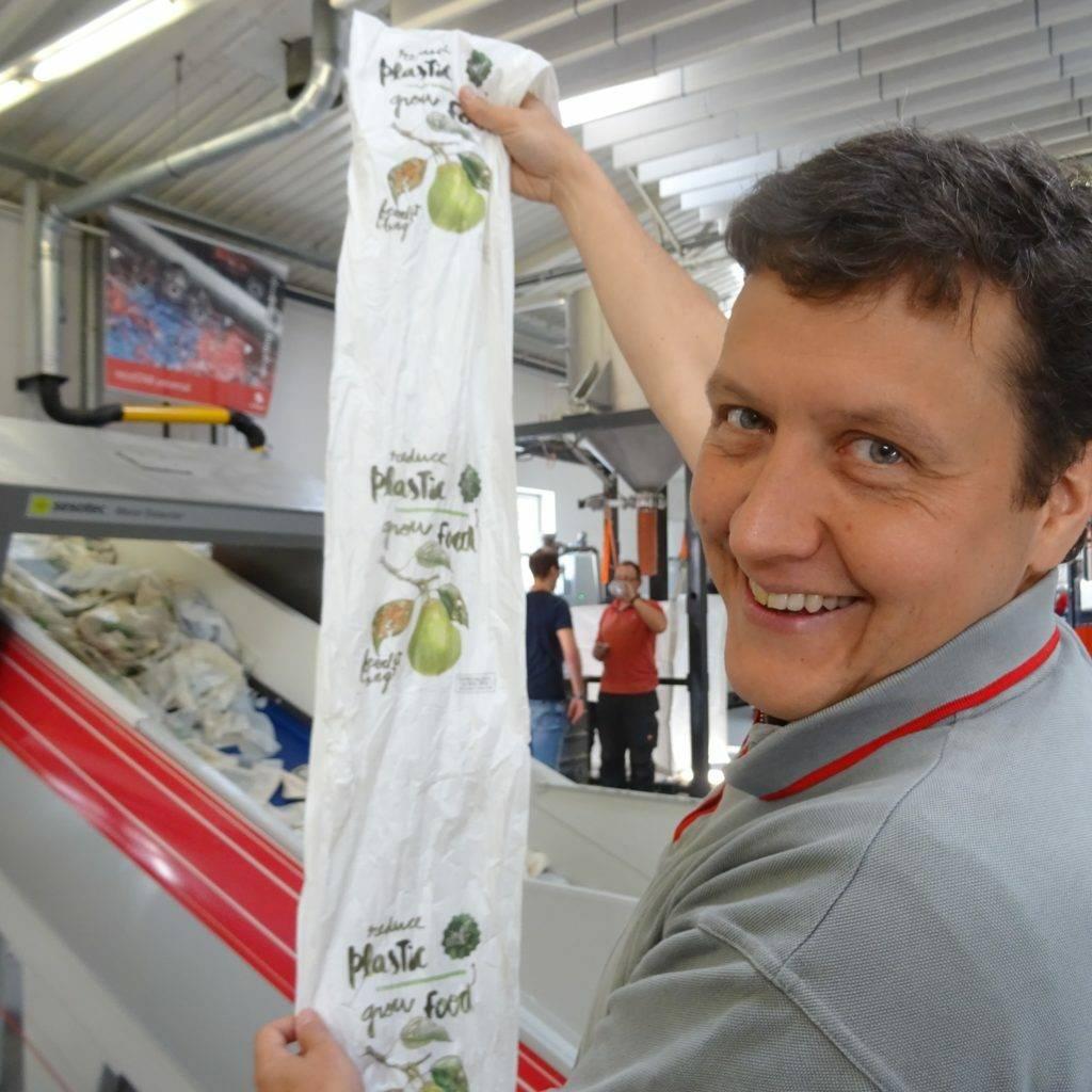 So werden NaKu Biosackerl produziert