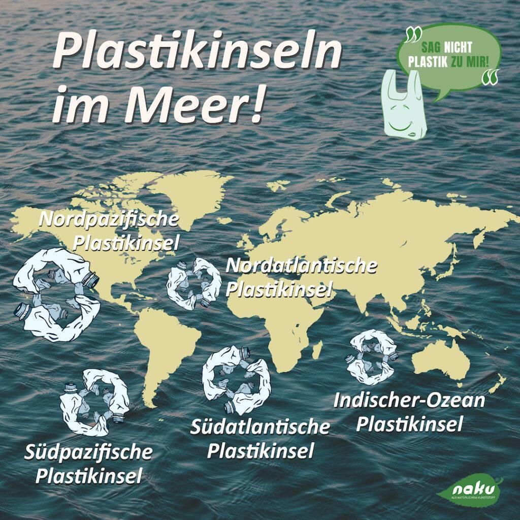 Umweltverschmutzung durch Plastikabfälle