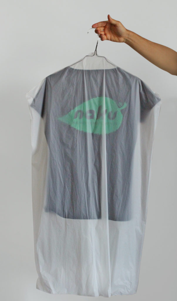 NaKu Bio-Kleidersack aus nachwachsenden Rohstoffen