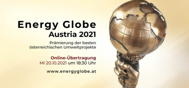 Verleihung Energy Globe Austria 2021